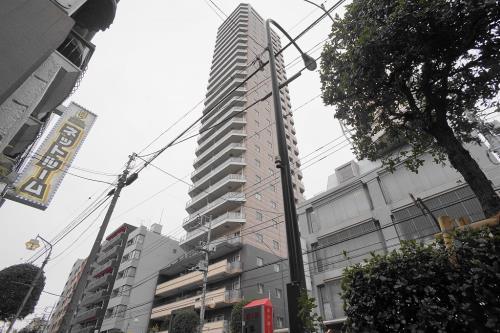 Exterior of プライムアーバン新宿夏目坂タワーレジデンス