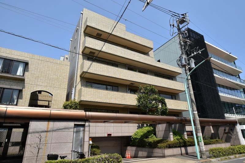 常磐松パーク・マンション 4F の外観写真