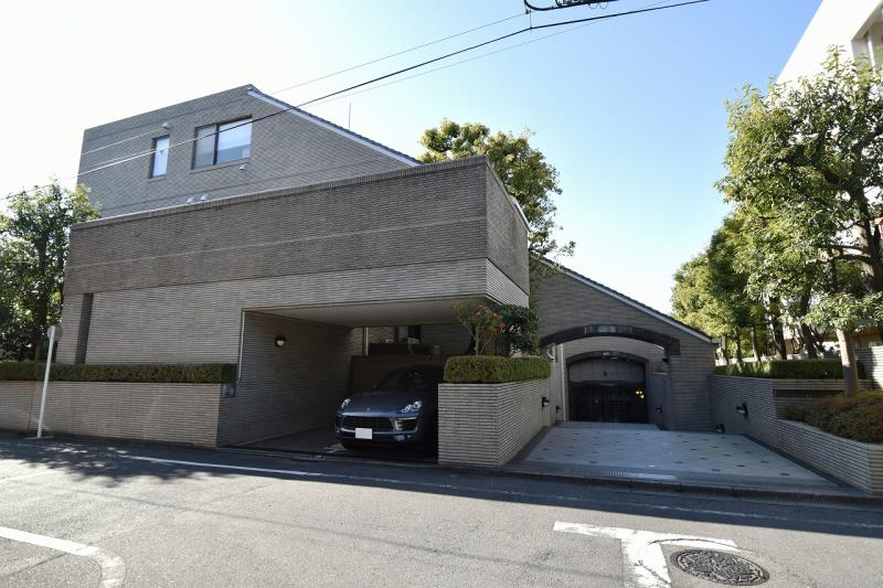 Exterior of Nishihara Park Mansion 1F