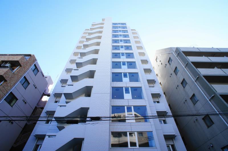 Exterior of Minami Azabu Park Heights 6F