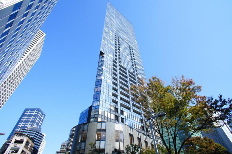 Exterior of Central Park Tower La Tour Shinjuku 44F