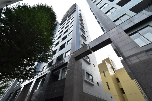 Exterior of Duo Scala Nishiazabu Tower