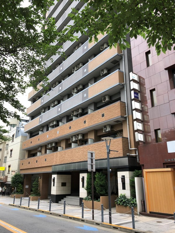 Exterior of Towa Roppongi Homes