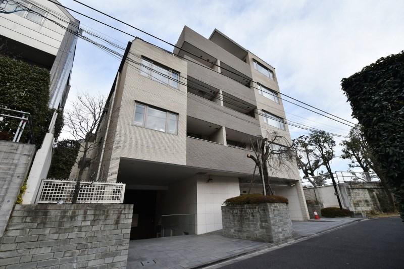 Exterior of Sunwood Shirokane Sankozaka