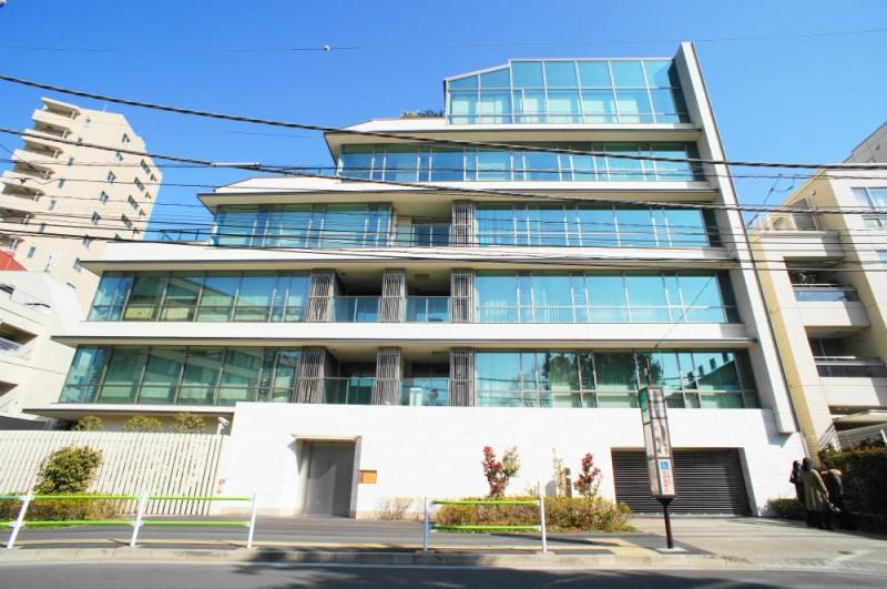 Exterior of 有栖川公园公寓