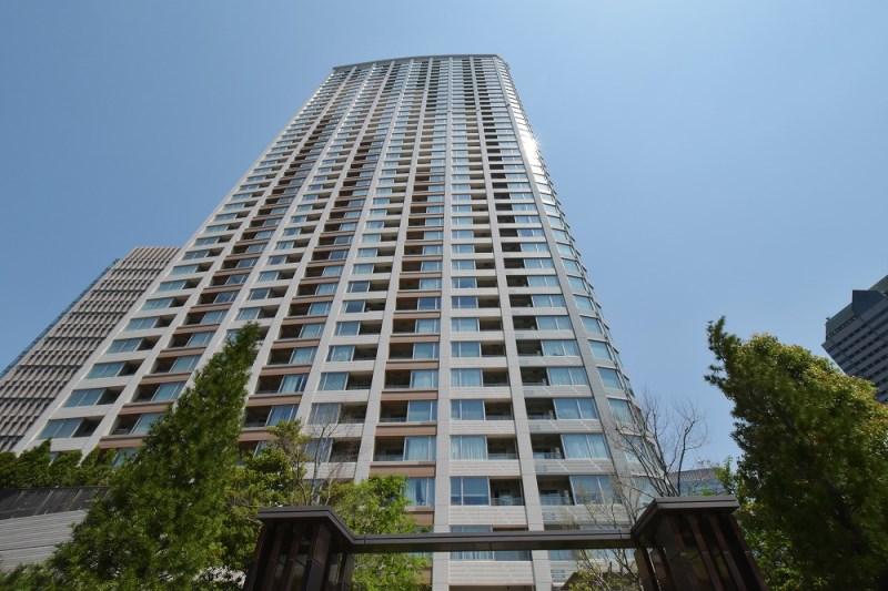 Exterior of Park Court Akasaka The Tower
