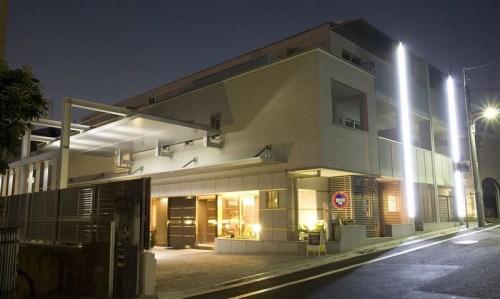 Exterior of ecuty Kamiyamacho