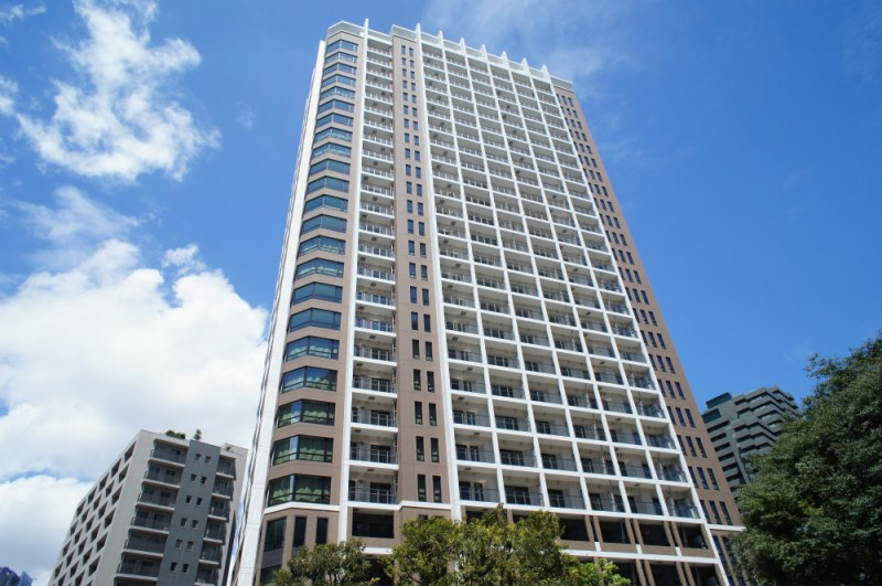 Exterior of Park Court Roppongi Hill Top