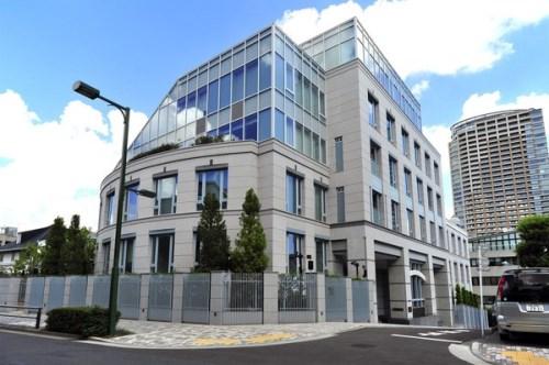 Exterior of パークマンション三田日向坂