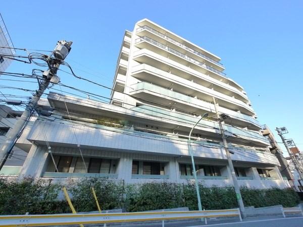Exterior of ID Court Yoyogi Jingunomori