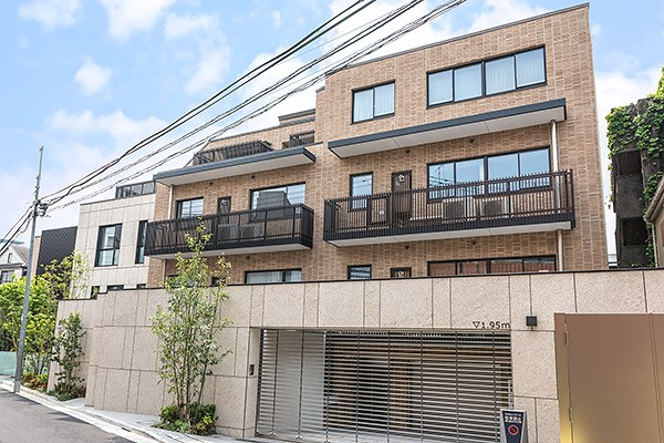 Exterior of Brillia 高輪 The Court