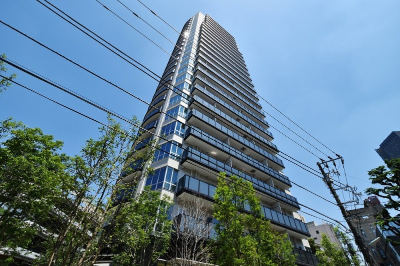 Exterior of Park Court 乃木坂 The Tower