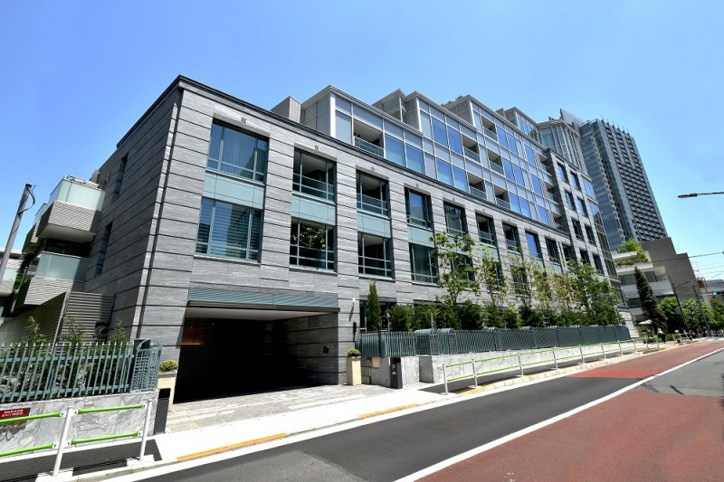Exterior of BRANZ ROPPONGI THE RESIDENCE