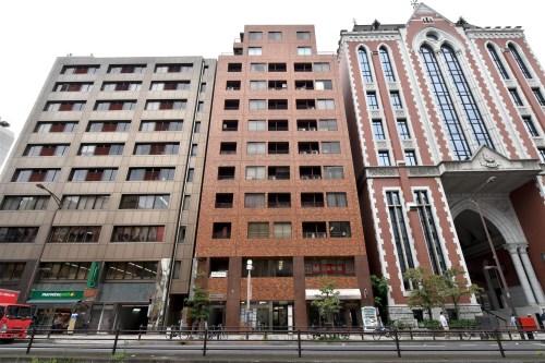 Exterior of Mita Keio Busidence