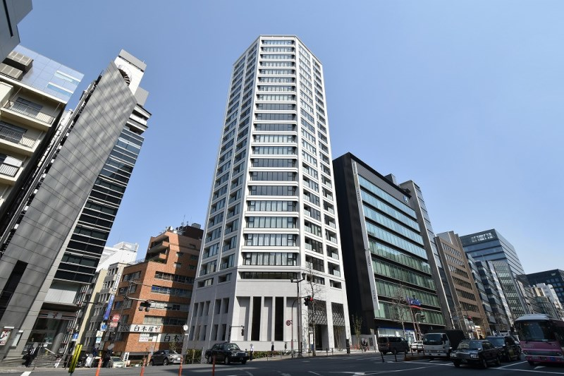 Exterior of The Chiyoda Kojimachi Tower
