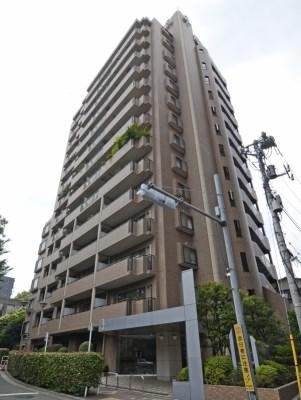 Exterior of Asahi Mansion Shirokane street 6F