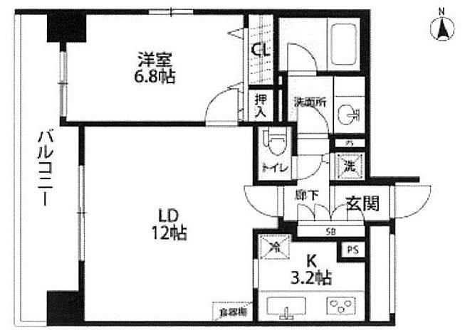 Freedio Shiba Koen Annex 5f 2br Condominium For Sale