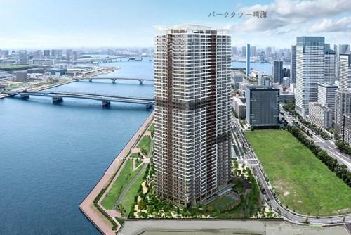 Exterior of Park Tower Harumi 14F