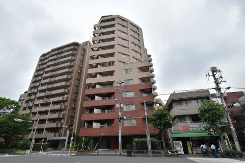 Exterior of リシェ広尾 12F