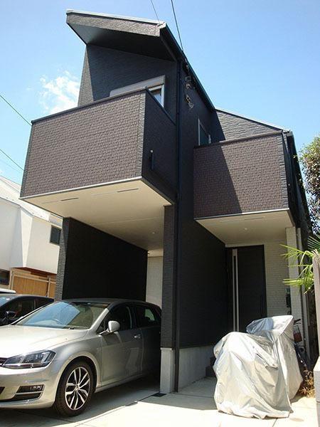 Exterior of Ohara 1-chome House