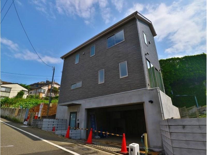Exterior of Denenchofu 5-chome House