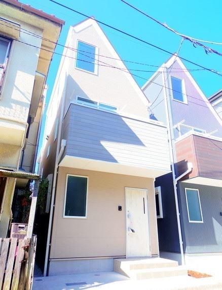 Exterior of Nishi-shinagwa 1-chome House South