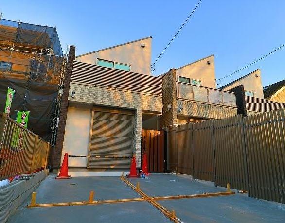 Exterior of Fukasawa 6-chome House D
