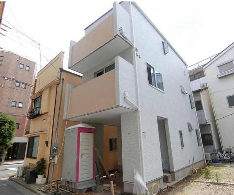 Exterior of Sasazuka 3-chome House