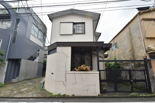 Exterior of Minami-azabu 3-chome House