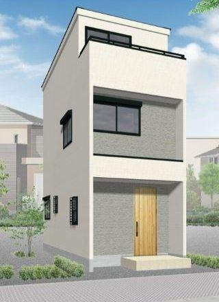 Exterior of Nishi-kamata 1-chome House B