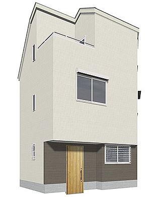 Exterior of Omori-nishi 4-chome House