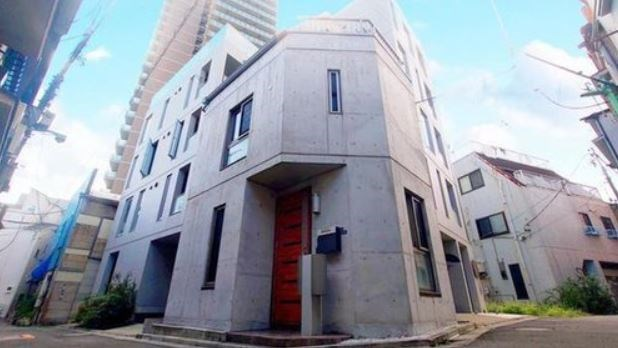 Exterior of Sanno 3-chome House