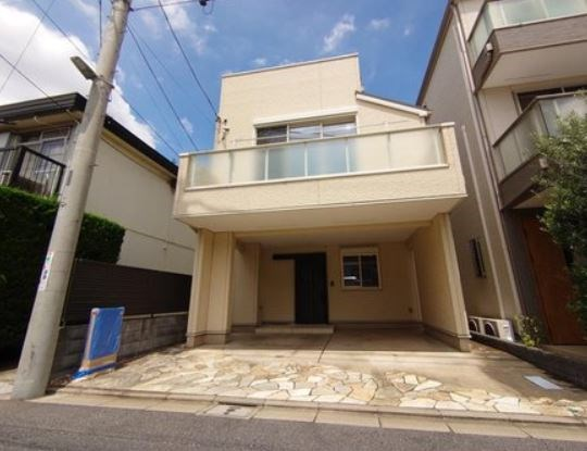 Exterior of Shimomeguro 6-chome House