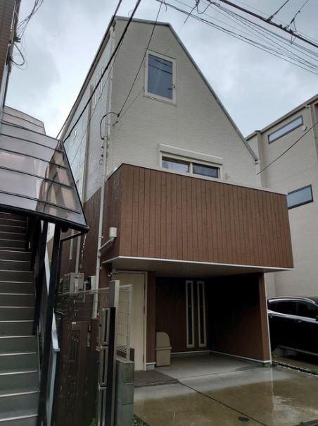 Exterior of Futaba 4-chome House