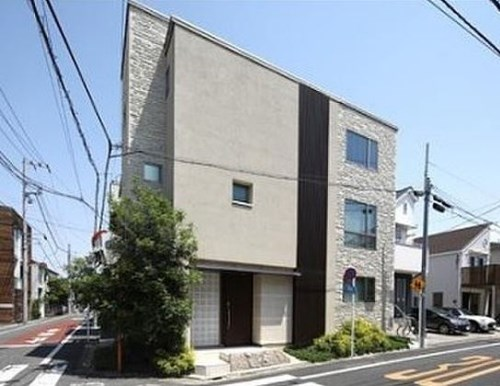 Exterior of House in Nakacho, Tokyo